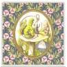 Carte postale Alice – Alice et la chenille