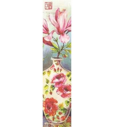 Marque-page Fleurs en vase (Sophie Adde)