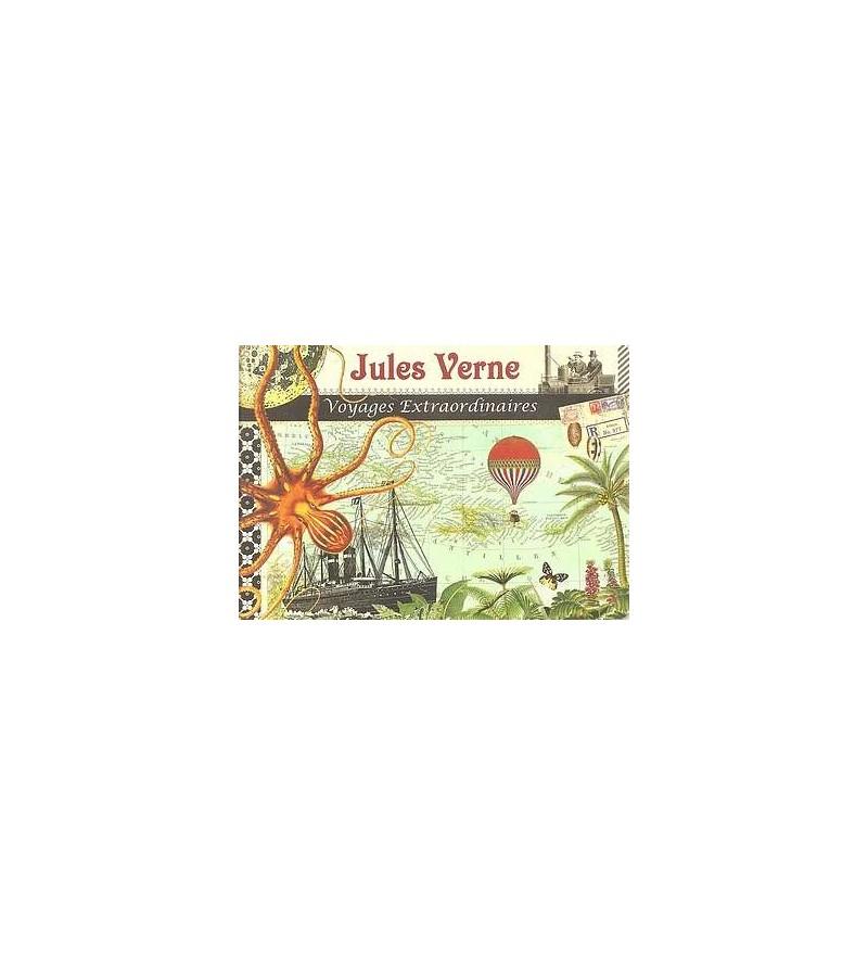 Cahier illustré Jules Verne – voyages extraordinaires
