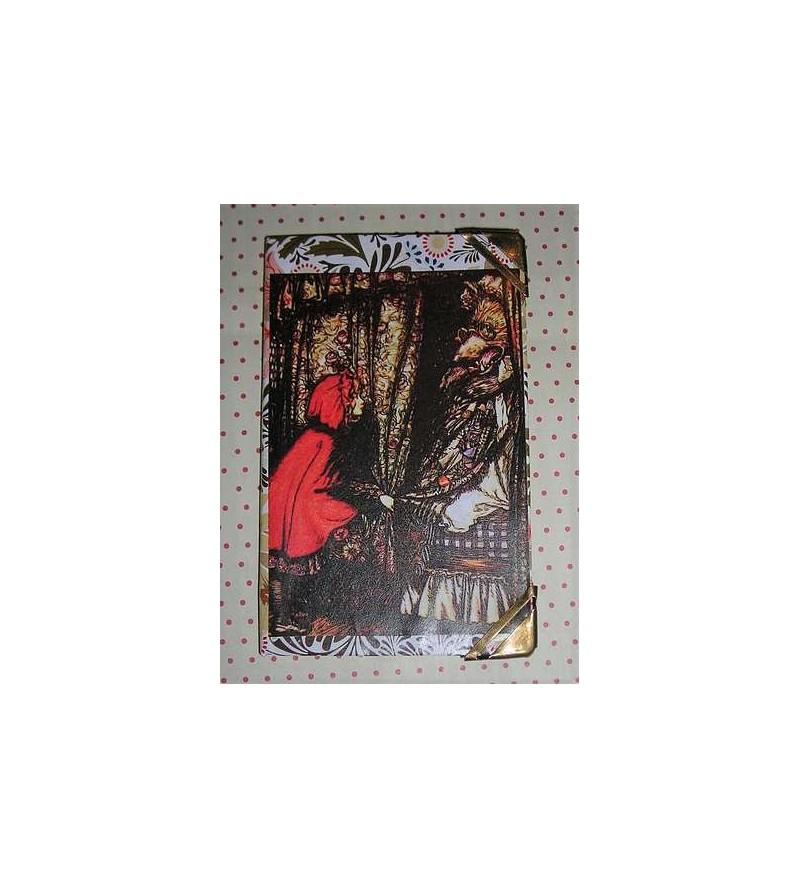 Petit carnet Arthur Rackam : Chaperon & loup