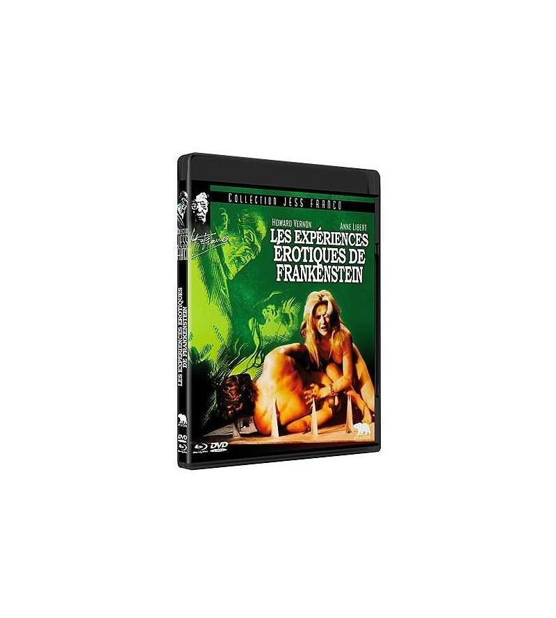 Les expériences érotiques de Frankenstein (Blu-ray + DVD)