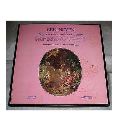 Intégrale des sonates pour piano et violon (5 X 12'' vinyl)