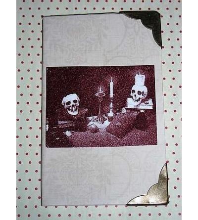 Petit carnet crânes & bougies