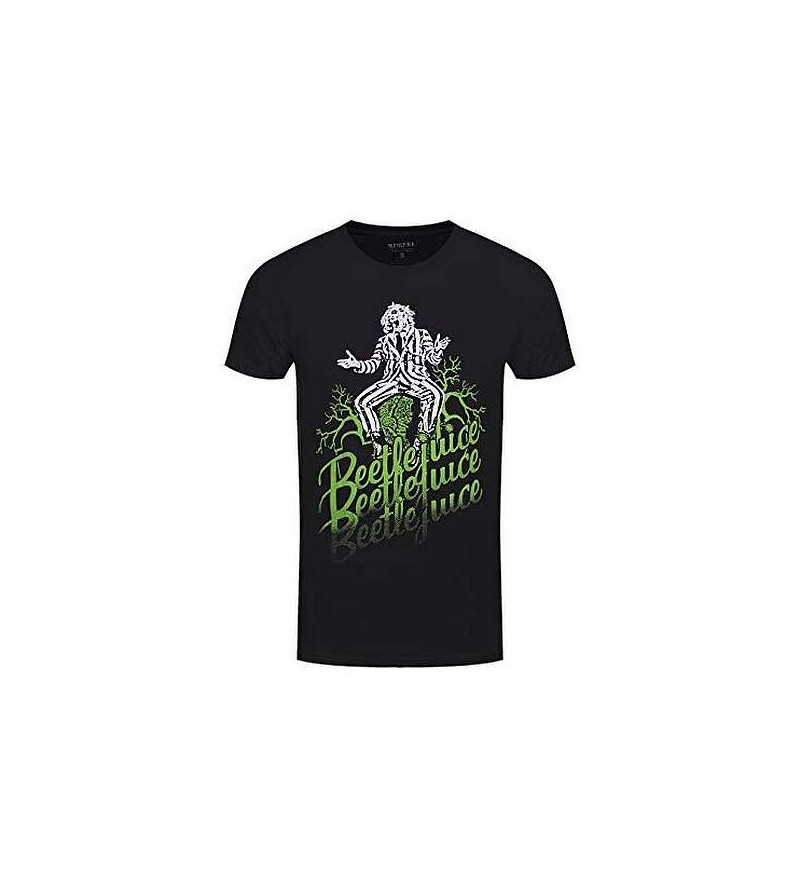 T-shirt Beetlejuice – Faded