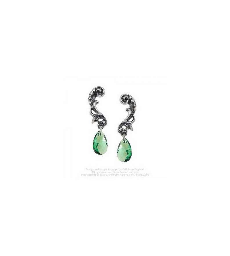Paire de boucles d'oreilles Night queen