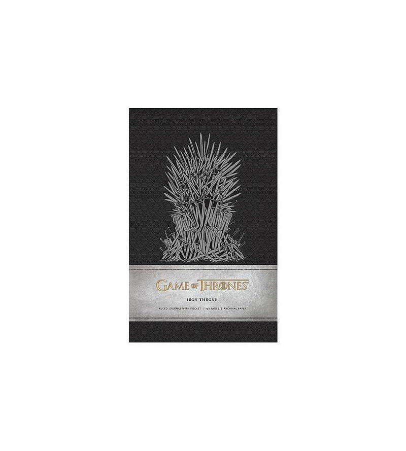 Carnet de notes Game of thrones : Iron throne