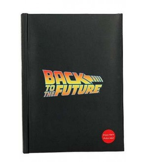 Carnet lumineux Back to the future
