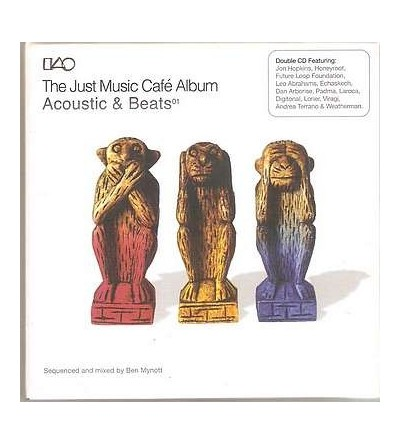 The just music café album – acoustic & beats 01 (2 CD)