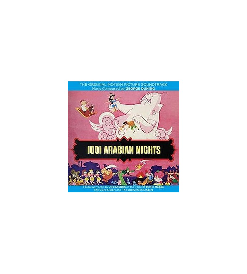 1001 arabian nights soundtrack (CD)