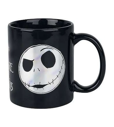Mug The nightmare before Christmas : Foil Jack face