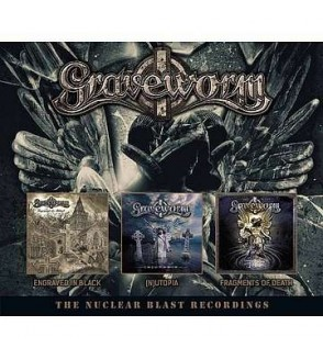 The nuclear blast recordings (Engraved in black / (n)utopia / Fragments of death) (3 CD)