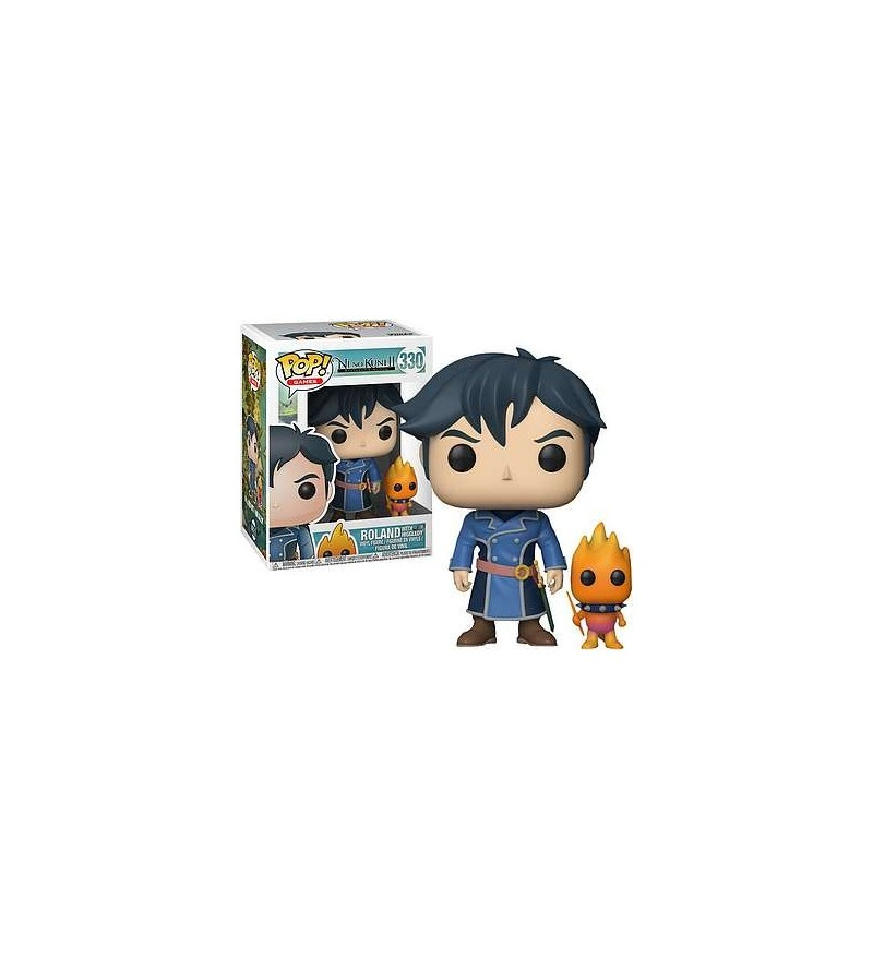 Figurine pop! Ni no kuni II : Roland with Higgledy