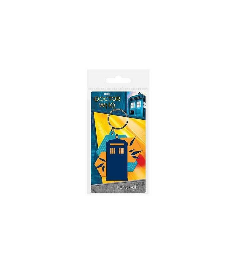 Porte-clés PVC Doctor Who Tardis shapes
