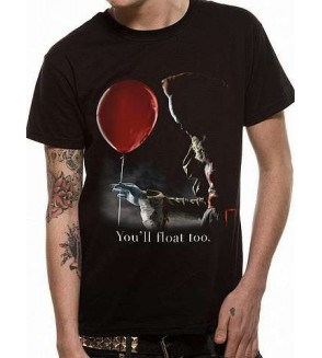 T-shirt It : Pennywise red balloon