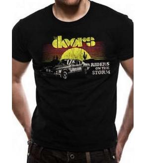 T-shirt The doors : Riders car