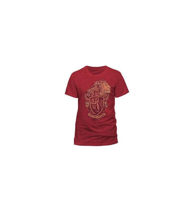 T-shirt Harry Potter : Gryffindor