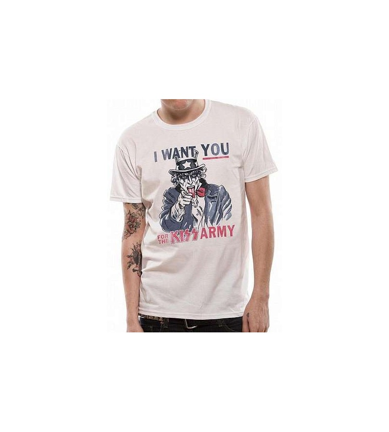 T-shirt Kiss : Uncle Sam