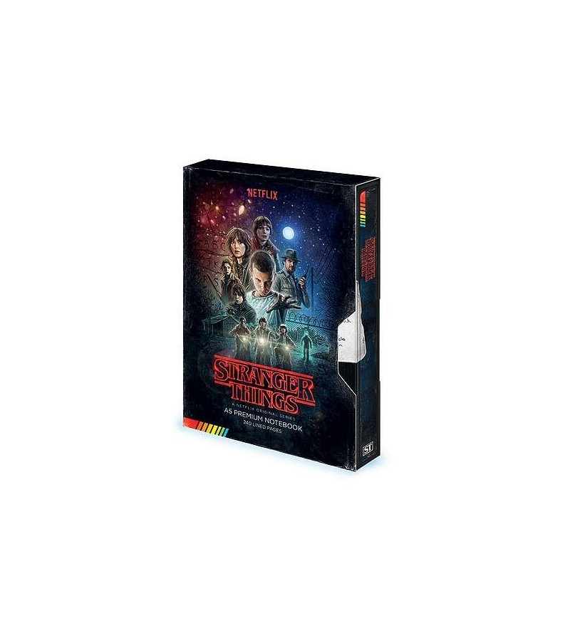 Carnet Stranger things – VHS