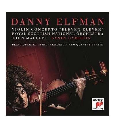 """Violin concerto """"Eleven eleven"""" / Piano quartet (CD)"""