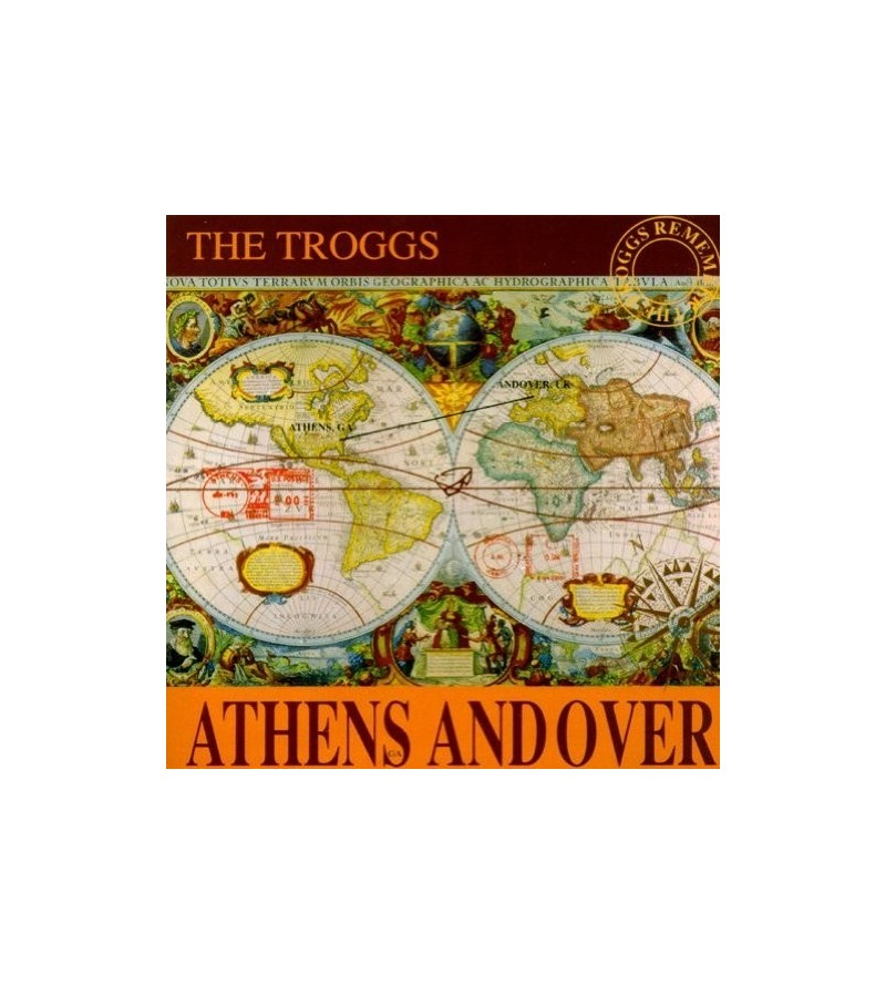 Athens and over (Ltd edition 12'' vinyl) RSD 2019