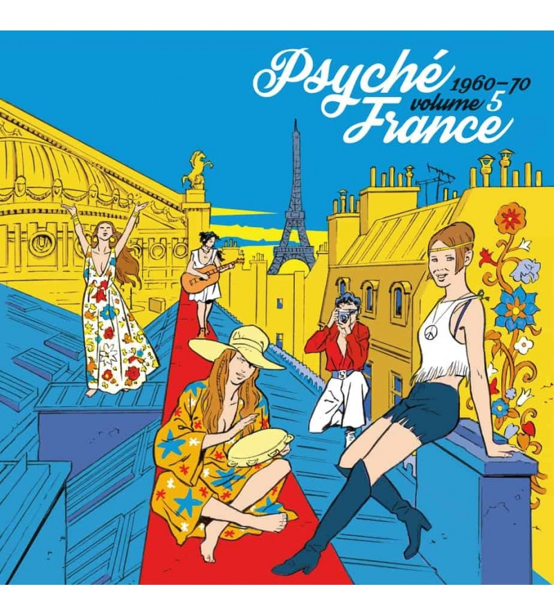 Psyché France volume 5 – 1960-70 (Ltd edition 12'' vinyl)