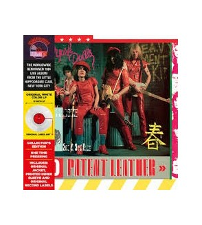 Red patent leather (Ltd edition 12'' vinyl) RSD 2019