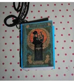 Collier livre femme à la lyre