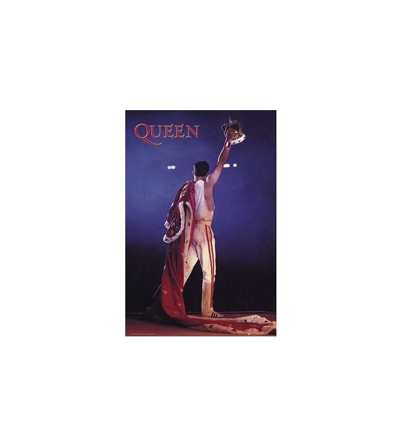 Affiche Queen crown