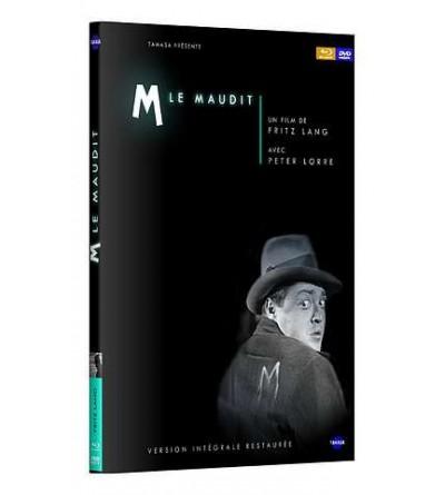 M le maudit (Blu-ray + DVD + livret)