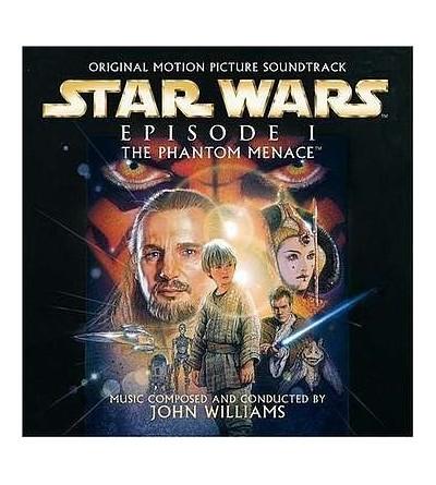Star wars episode I the phantom menace soundtrack (CD)