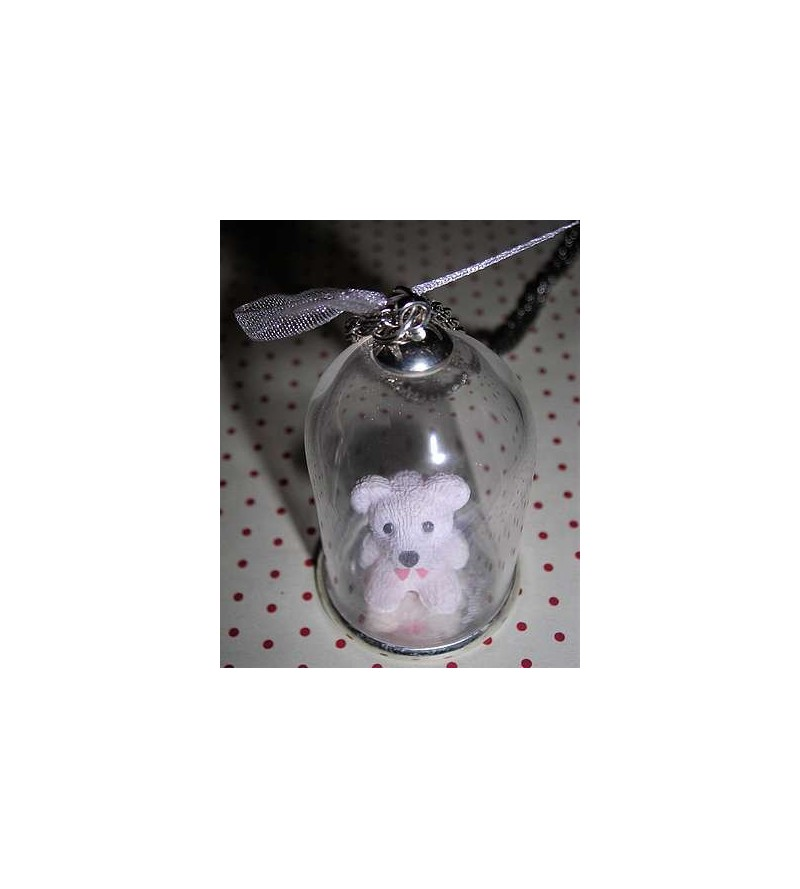 Collier cloche nounours