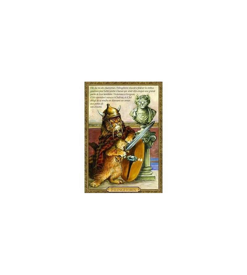 Carte postale Félingétorix (Séverine Pineaux)