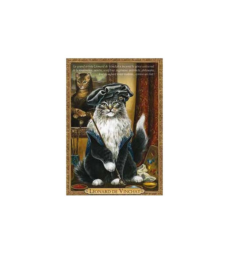 Carte postale Leonard de Vinchat (Séverine Pineaux)