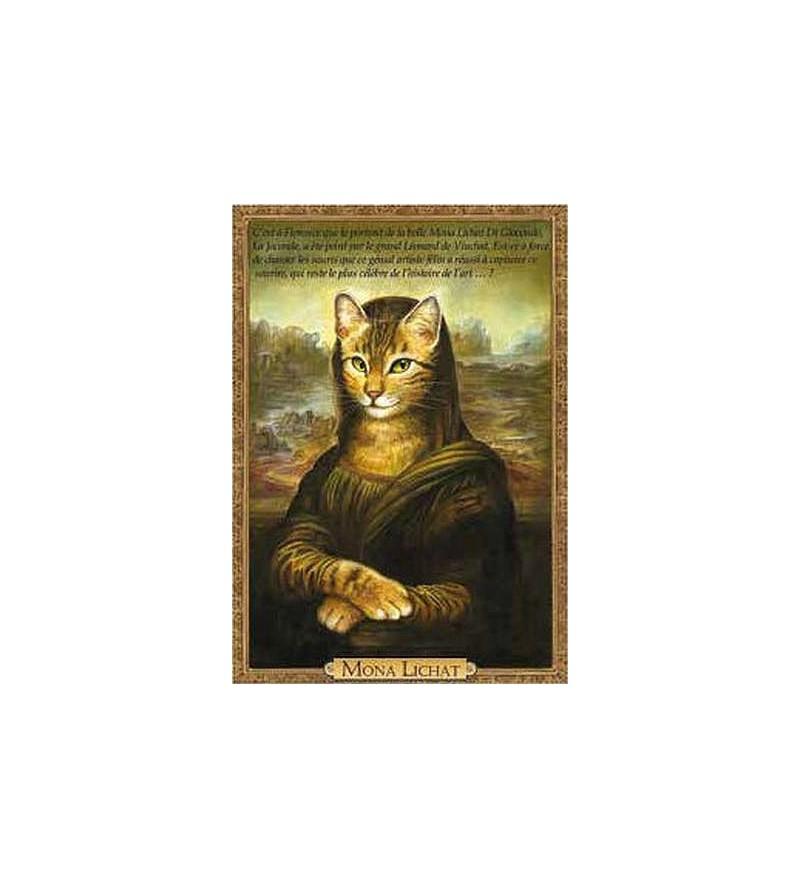 Carte postale Mona Lichat (Séverine Pineaux)