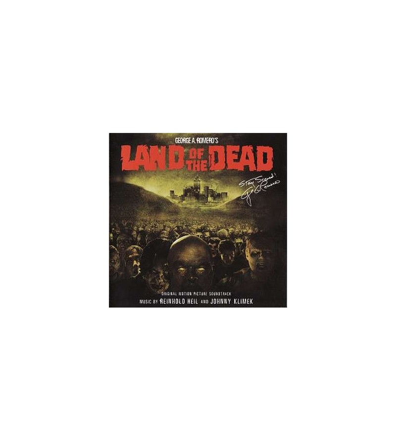 Land of the dead soundtrack (CD)
