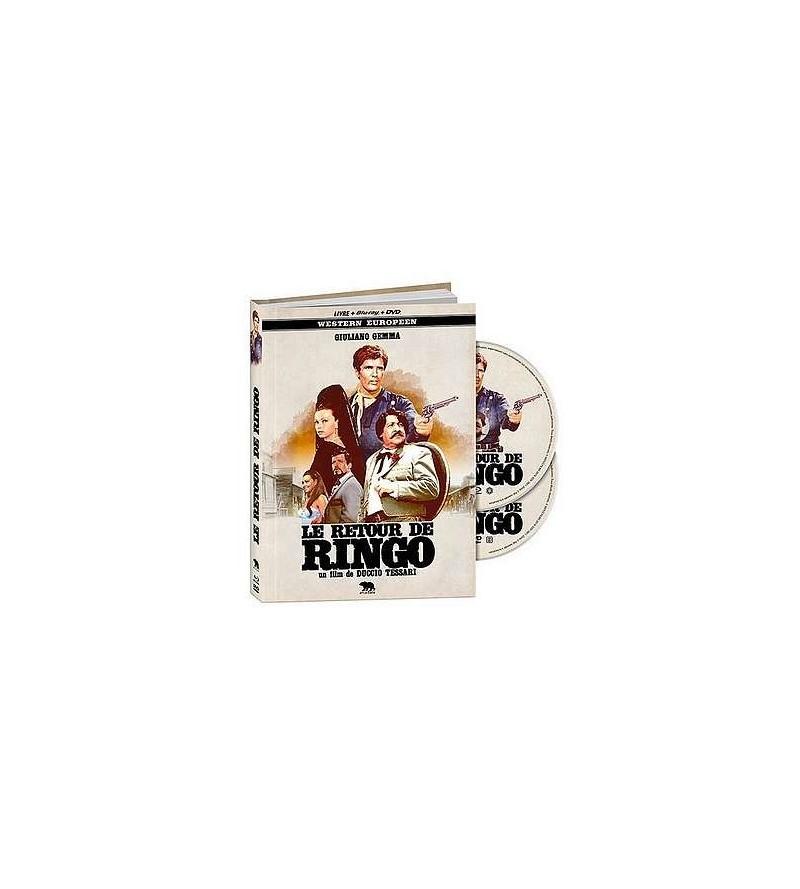 Le retour de Ringo (Blu-ray + DVD + livre)