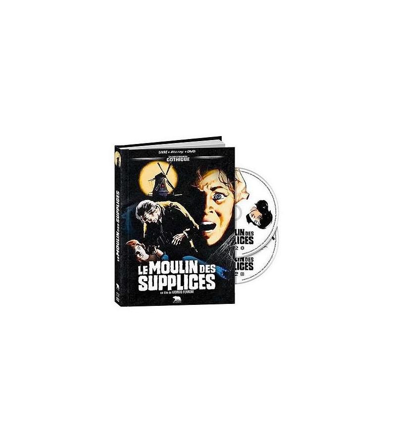 Le moulin des supplices (Blu-ray + DVD + livre)