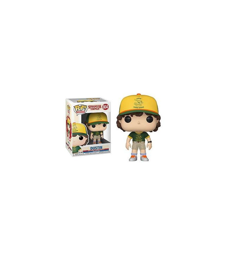 Figurine pop! Stranger things : Dustin (at camp)
