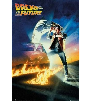 Affiche Back to the future