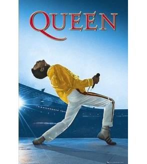Affiche Queen – Wembley