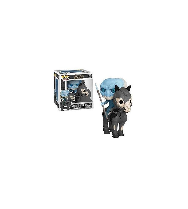 Figurine pop! Game of thrones : Mounted white walker