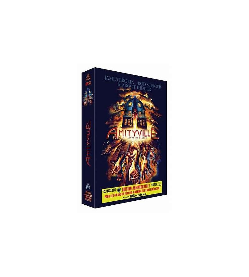 Coffret Amityville – la maison du diable (3 Blu-ray + 3 DVD)