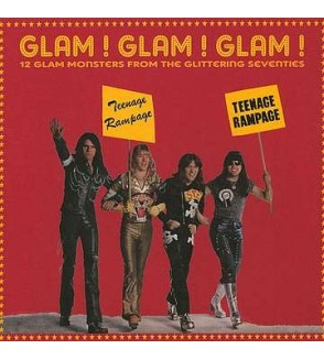 Glam ! Glam ! Glam ! – 12 glam monsters from the glittering seventies (12'' vinyl)