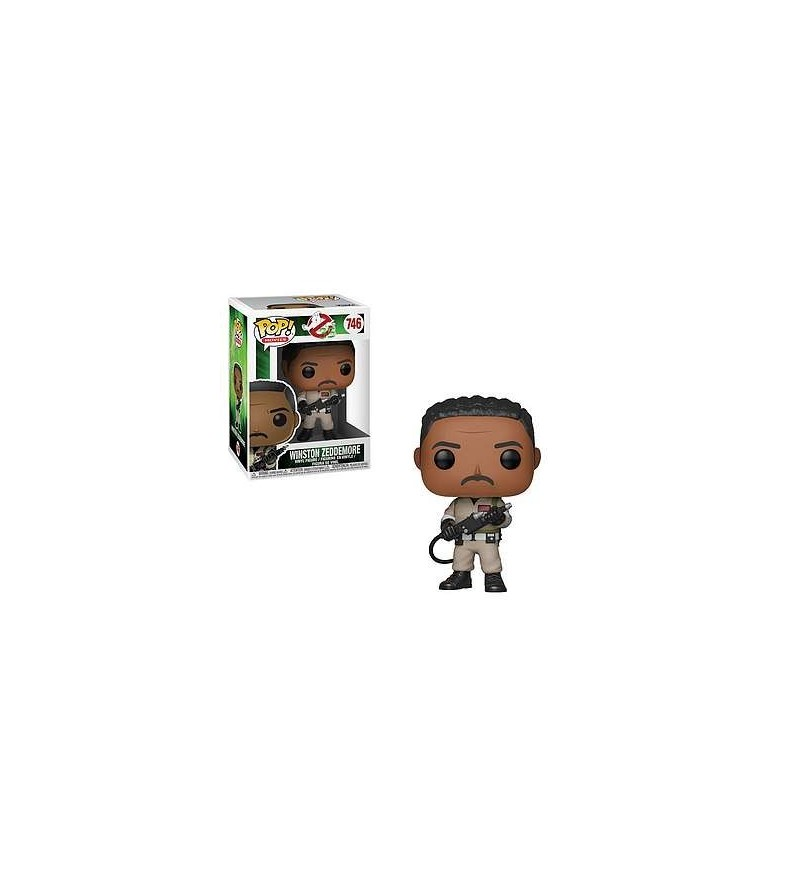 Figurine pop! Ghostbusters : Dr. Winston Zeddemore