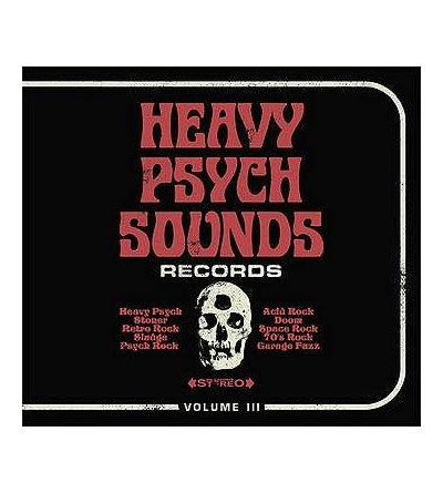 Heavy psych sounds records volume III (CD)