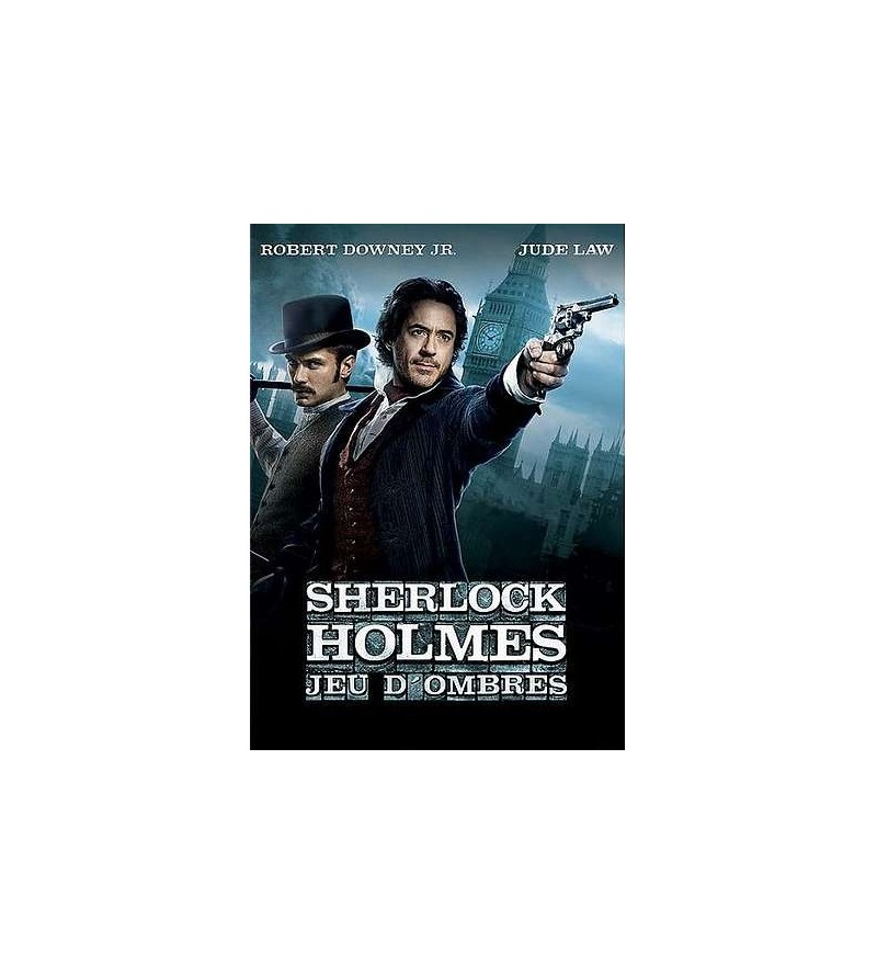 Sherlock Holmes – jeu d'ombres (DVD)