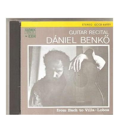 Guitar recital – from Bach to Villa-Lobos (CD)