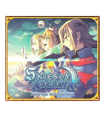 Skies of arcadia eternal soundtrack (Ltd edition 3 CD)