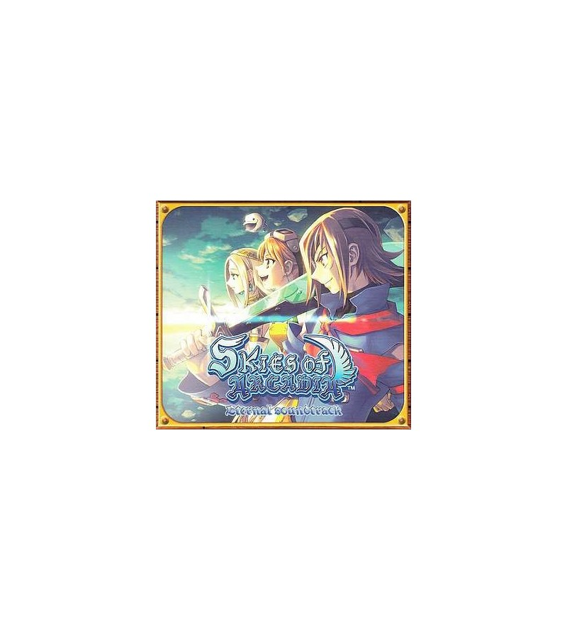 Skies of arcadia eternal soundtrack (Ltd edition 3 CD)