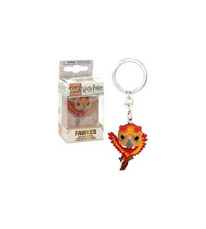 Porte-clés pocket pop! Harry Potter : Fawkes